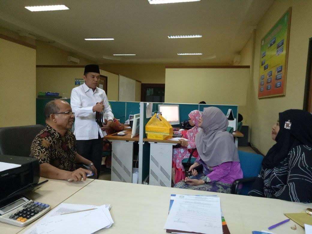 Kunjungan Lembaga Penjaminan Mutu Ke Universitas Islam Negeri Suska Riau dalam rangka Pengambilan Se
