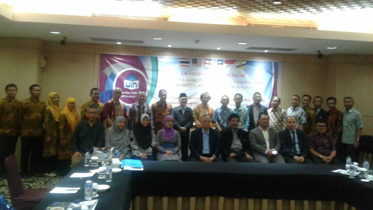 Training of Assessors Asian Islamic Universities Association (AIUA)