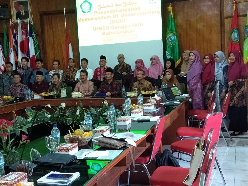 Workshop Peningkatan Kompetensi Tenaga Kependidikan IAIN Batu Sangkar dan LPM UIN SU Medan
