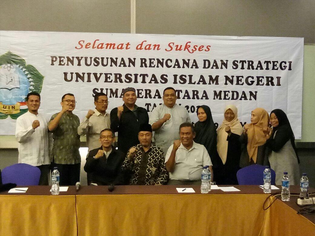 Penyusunan RENSTRA UIN SU Medan