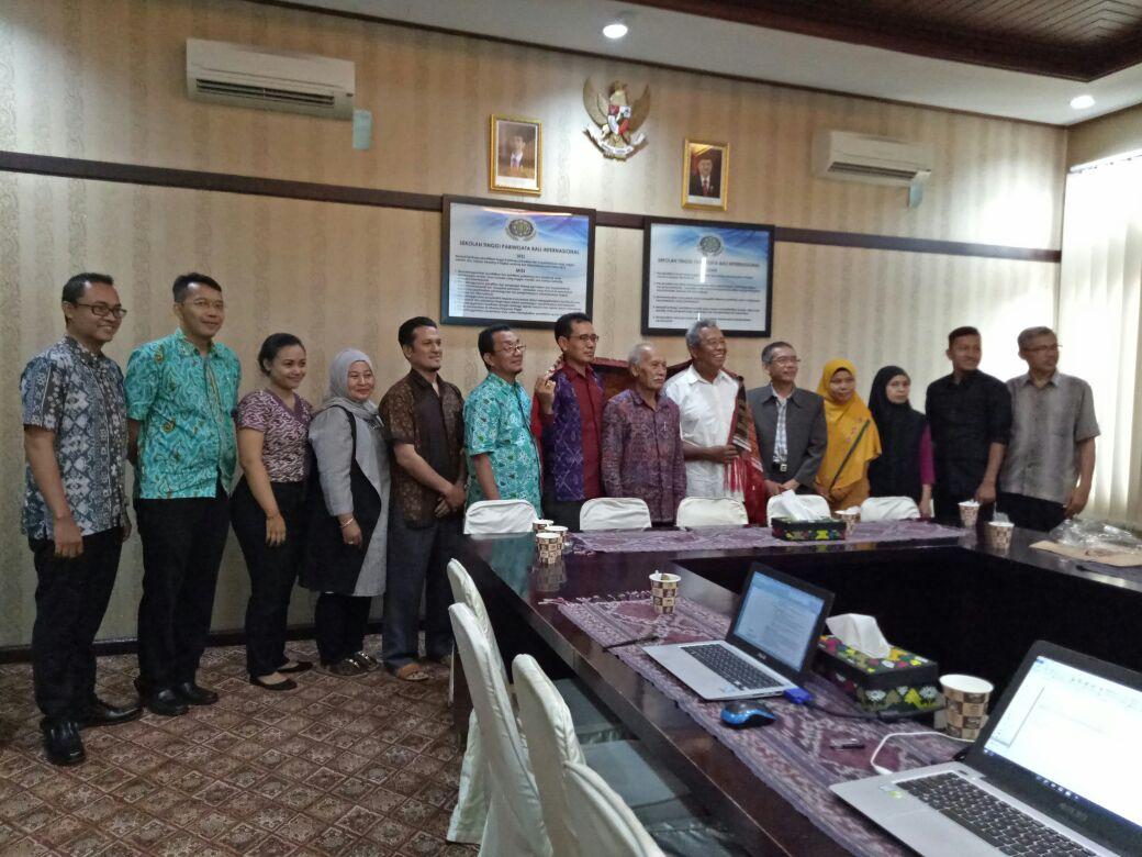 Kunjungan UIN Sumatera Utara Medan ke Sekolah Tinggi Pariwisata Bali Internasional
