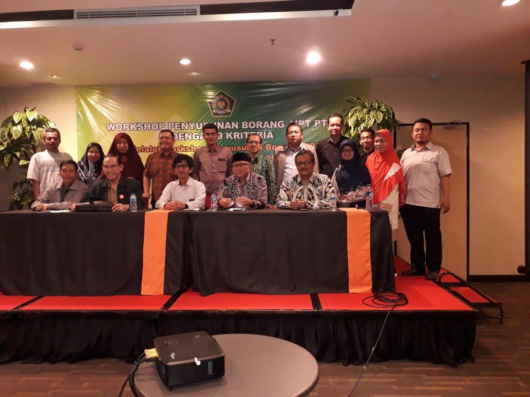 Workshop Penyusunan Borang AIPT PTKIN dengan 9 Kriteria